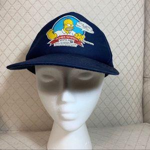 Vintage 90's Homer Simpson Trucker Baseball Cap